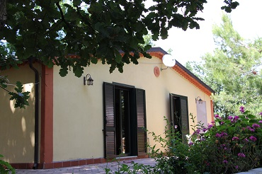 apartments in Cilento with swimming pool